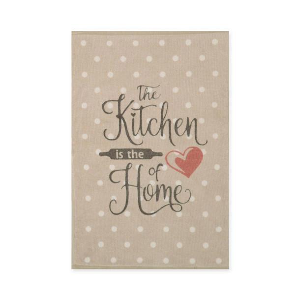 Πετσέτα Κουζίνας Nef-Nef Heart Of Home Beige