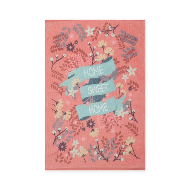 Πετσέτα Κουζίνας Nef-Nef Home Sweet Home Pink
