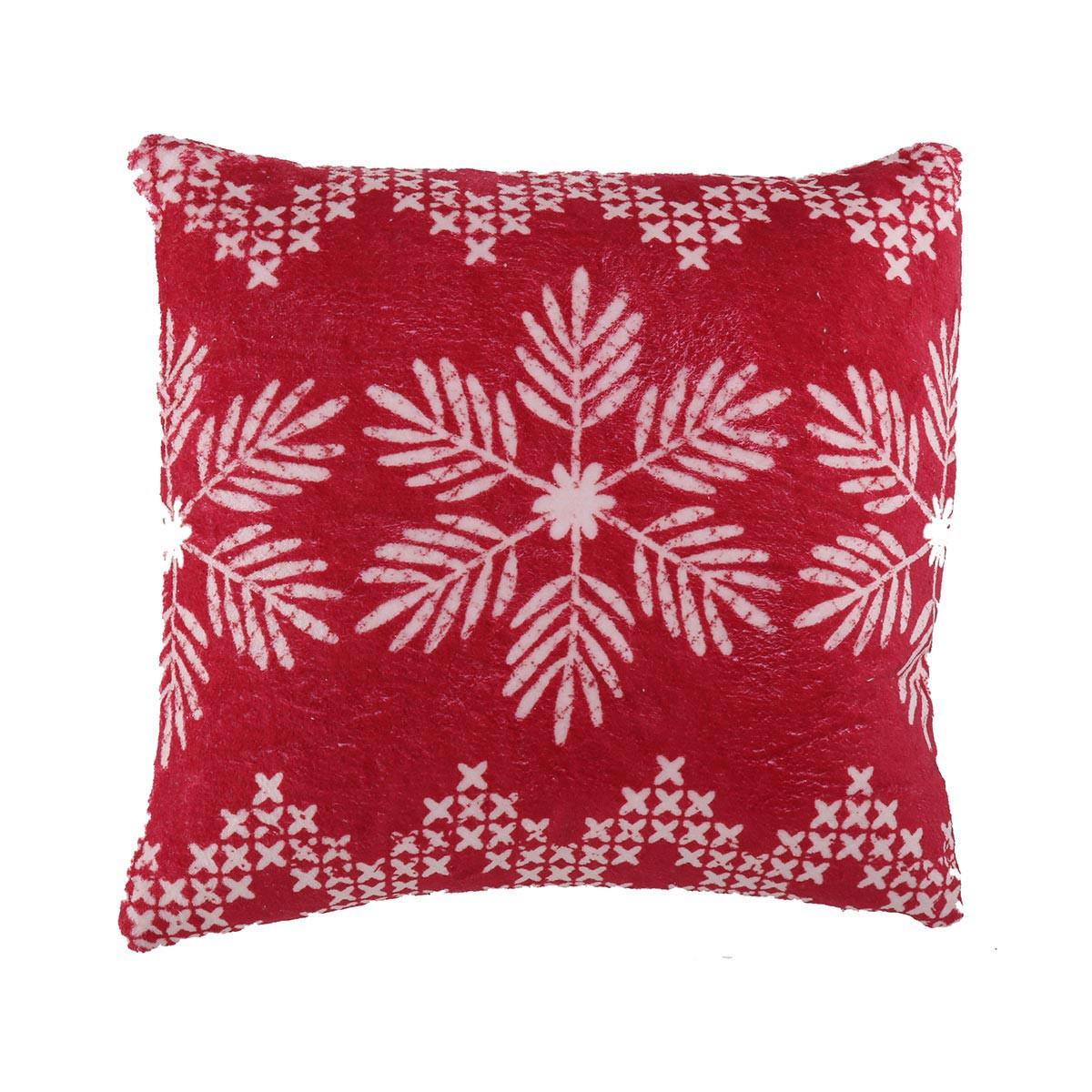 Χριστουγεννιάτικο Διακοσμητικό Μαξιλάρι (45×45) Nef-Nef Greeting