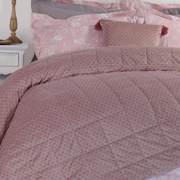 Κουβερλί Υπέρδιπλο Nef-Nef Cendra Pink