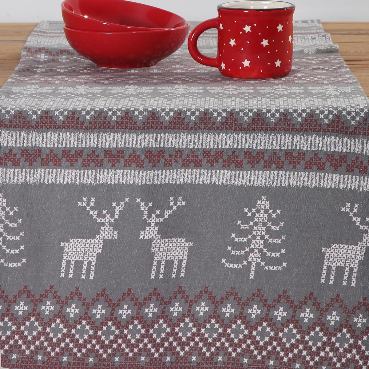 Χριστουγεννιάτικη Τραβέρσα Nef-Nef Greetings
