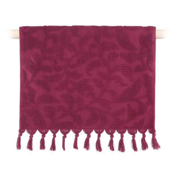 Πετσέτα Σώματος (70x140) Nef-Nef Kynthia Bordo