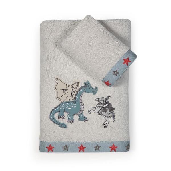 Παιδικές Πετσέτες (Σετ 2τμχ) Nef-Nef Dragon Battle