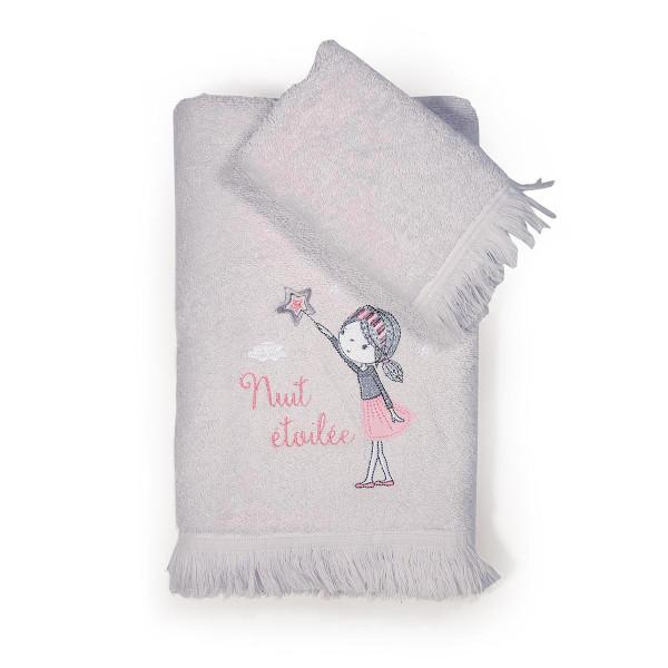 Παιδικές Πετσέτες (Σετ 2τμχ) Nef-Nef Nuit