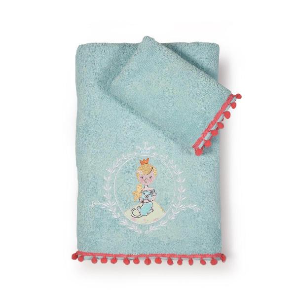 Παιδικές Πετσέτες (Σετ 2τμχ) Nef-Nef Princess Day