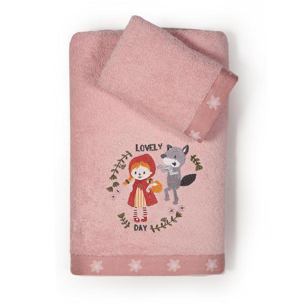 Παιδικές Πετσέτες (Σετ 2τμχ) Nef-Nef Red Riding Hood