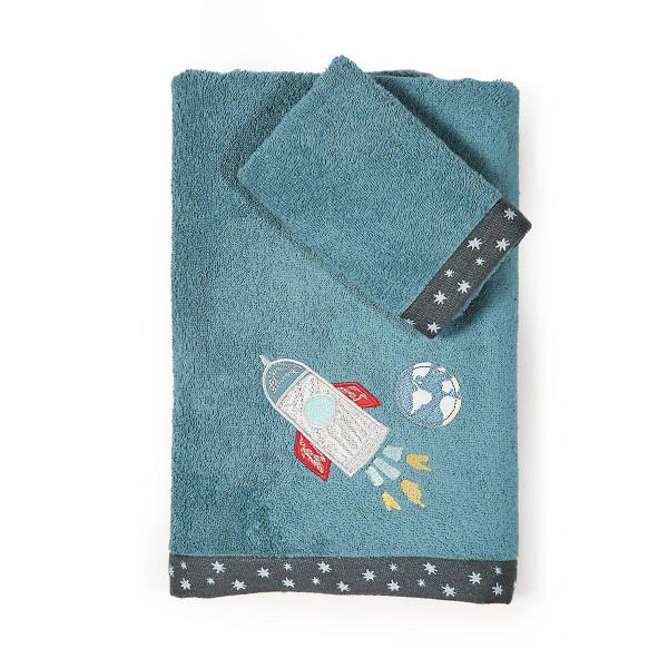Παιδικές Πετσέτες (Σετ 2τμχ) Nef-Nef Space Travel