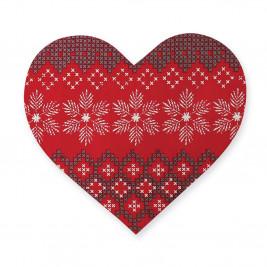 Χριστουγεννιάτικο Σουπλά Καρδιά Nef-Nef Greetings