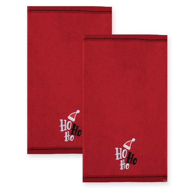 Χριστουγεννιάτικες Πετσέτες (Σετ 2τμχ) Nef-Nef Ho Ho Ho