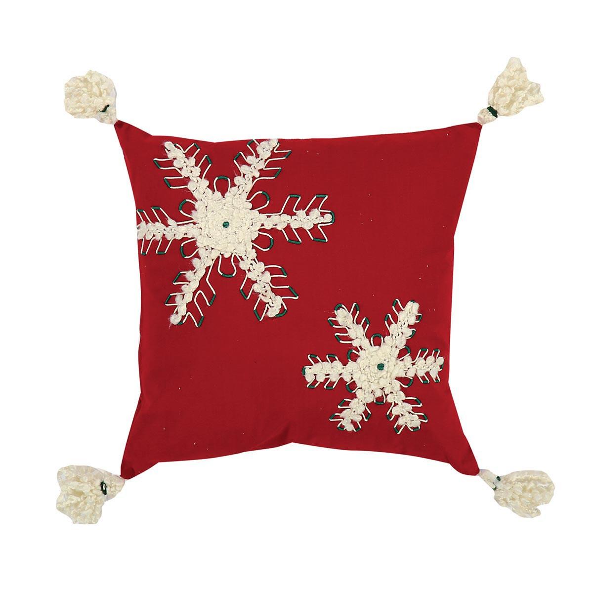 Χριστουγεννιάτικο Διακοσμητικό Μαξιλάρι Nef-Nef Snowflakes