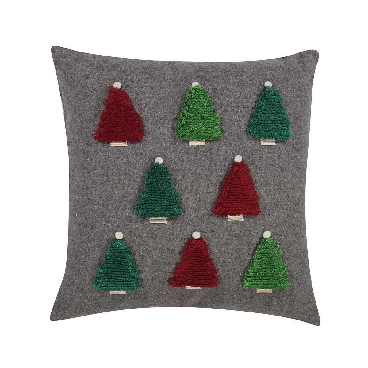 Χριστουγεννιάτικο Διακοσμητικό Μαξιλάρι Nef-Nef Trees
