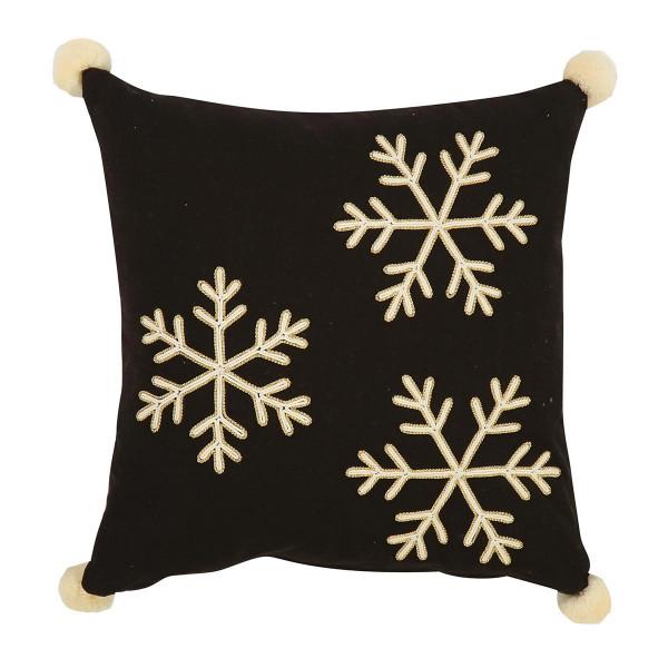 Χριστουγεννιάτικο Μαξιλάρι Nef-Nef Merry Snowflakes