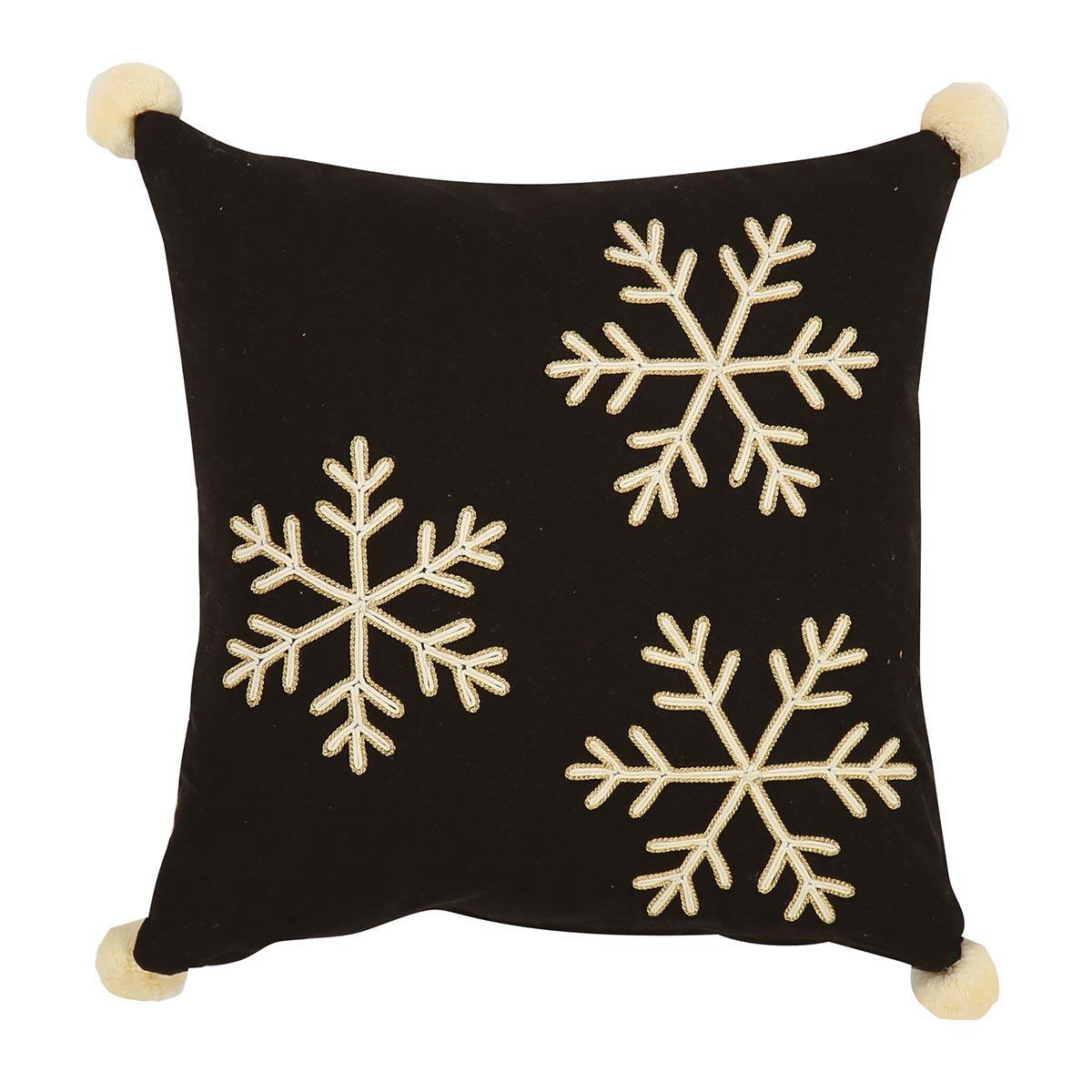 Χριστουγεννιάτικο Διακοσμητικό Μαξιλάρι Nef-Nef Merry Snowflakes