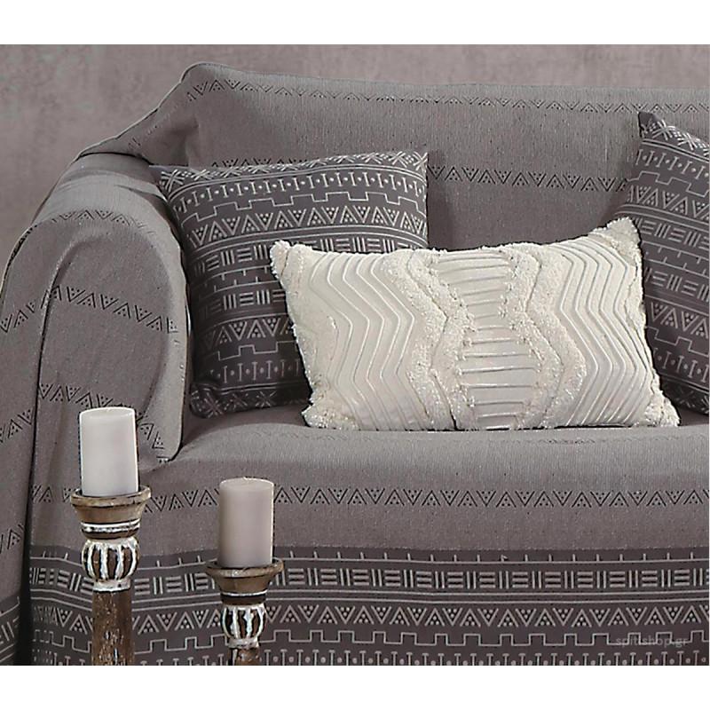 Ριχτάρι Τριθέσιου (170x300) Nef-Nef Hartumm Grey