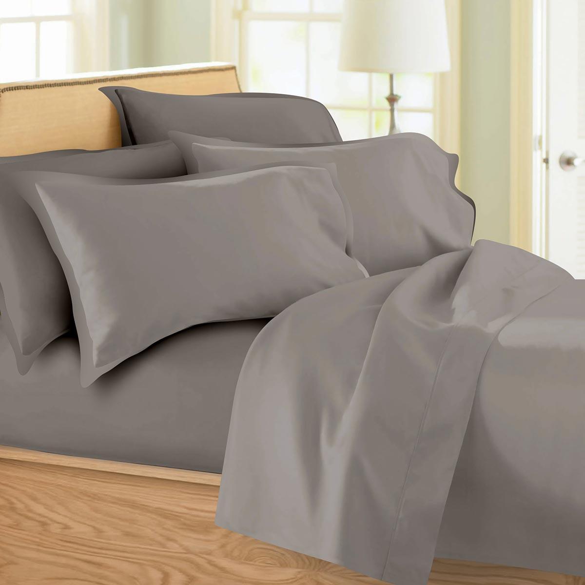 Σεντόνια Υπέρδιπλα (Σετ) Maison Blanche 62002 Grey/Grey