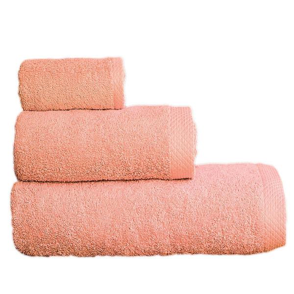 Πετσέτες Μπάνιου (Σετ 3τμχ) Maison Blanche 866099 Ροδί