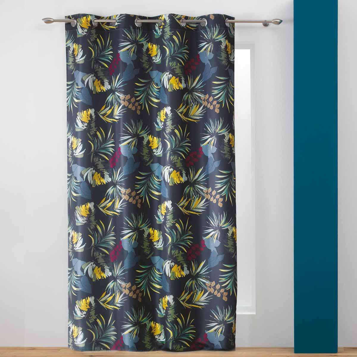 Κουρτίνα (140×260) Με Τρουκς Botanica Rideau 1408240