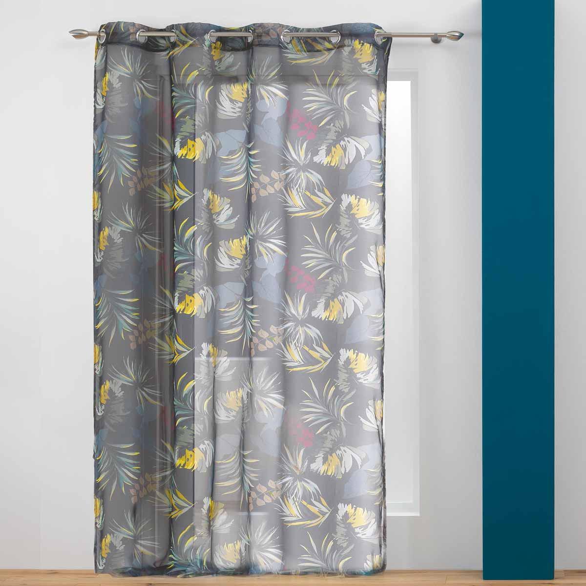 Κουρτίνα (140×240) Με Τρουκς Botanica Voilage 1408241