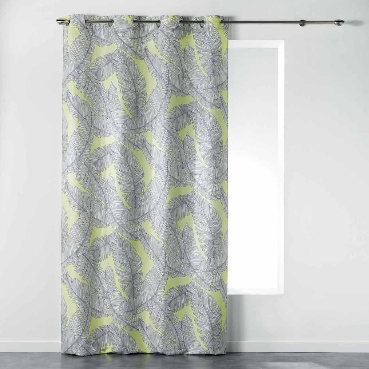 Κουρτίνα (140×260) Με Τρουκς Chic Allure Rideau Jaune 1408259