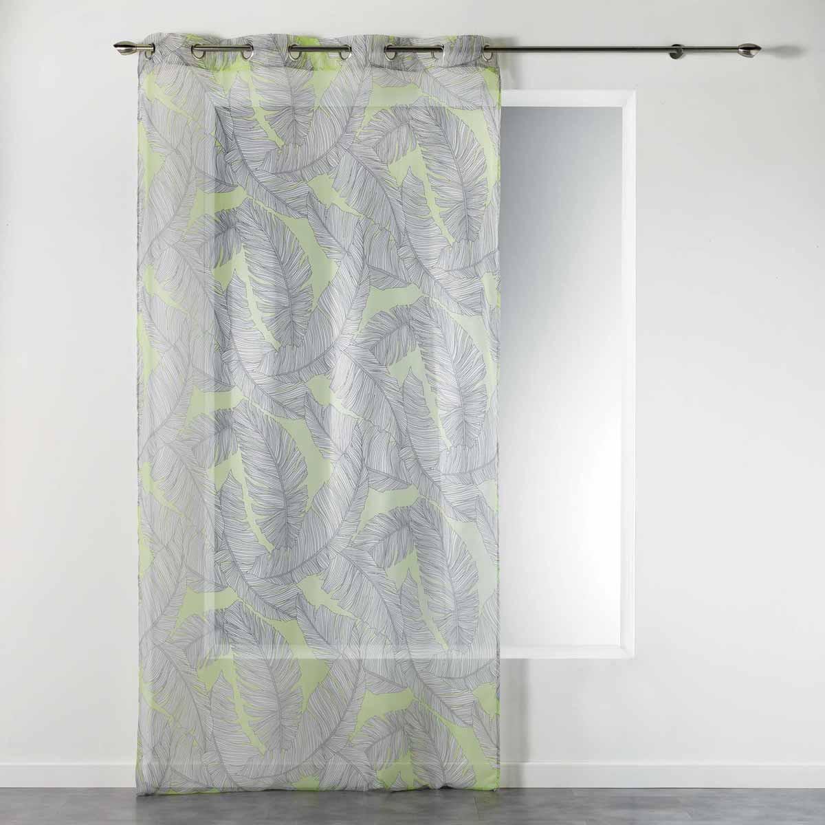 Κουρτίνα (140×240) Με Τρουκς Chic Allure Voilage Jaune 1408261