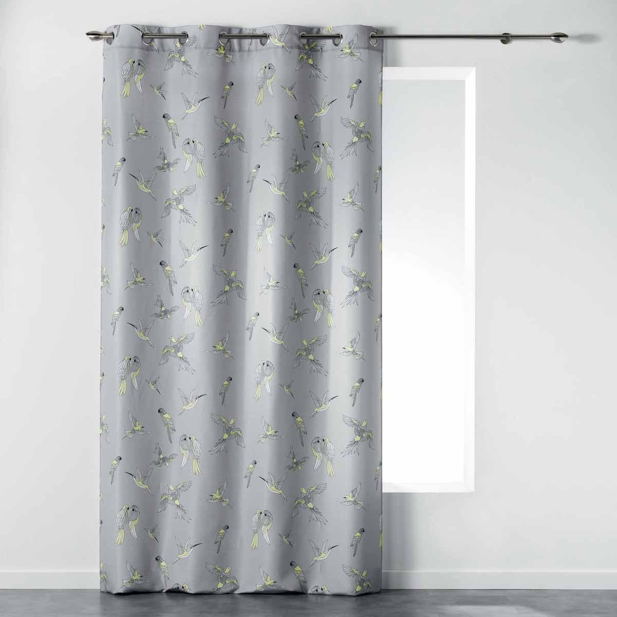 Κουρτίνα (140×260) Με Τρουκς Envolee Chic Rideau Jaune 1408267