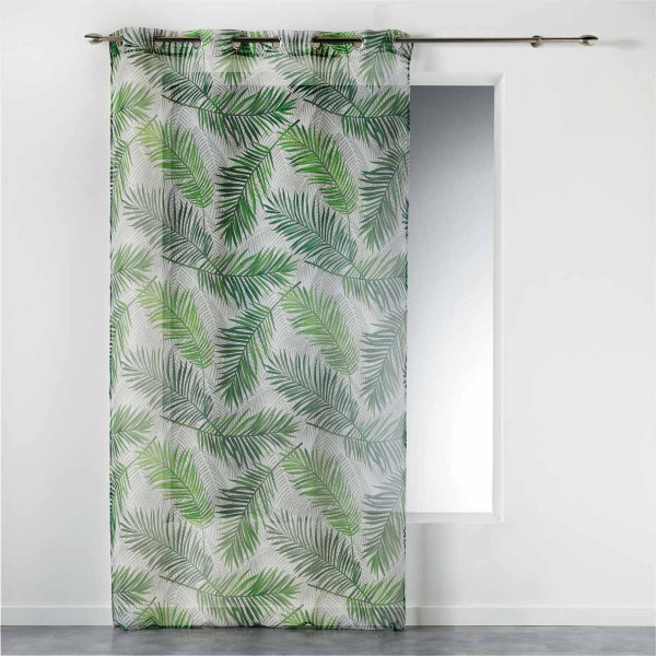 Κουρτίνα (140x240) Με Τρουκς Green Paradise 1408284