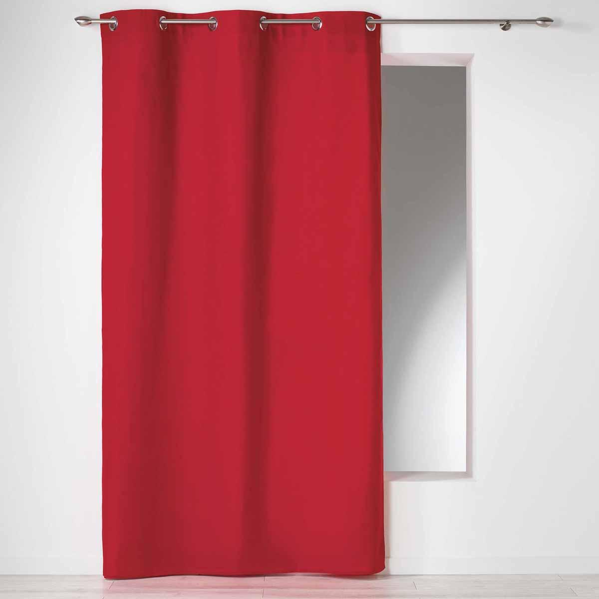 Κουρτίνα (140×240) Με Τρουκς Panama Rouge 1604619