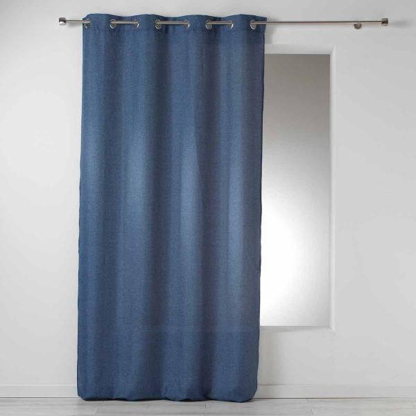Κουρτίνα (140x260) Με Τρουκς Select Bleu 1606578
