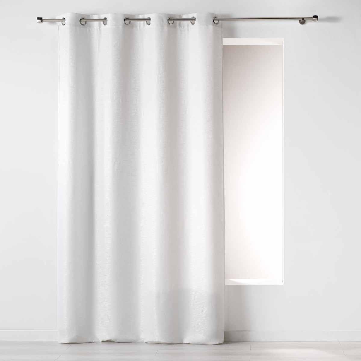 Κουρτίνα (140×260) Με Τρουκς Riad Blanc 1607460
