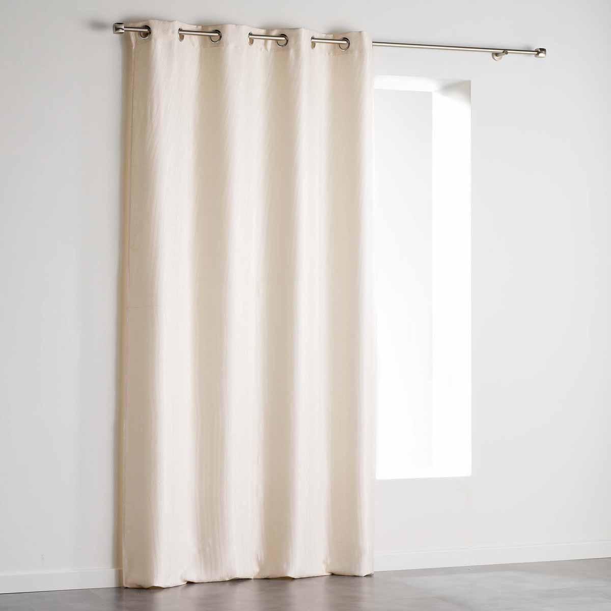 Κουρτίνα Blackout Βελουτέ (140×240) Με Τρουκς Paleo Naturel 1607655