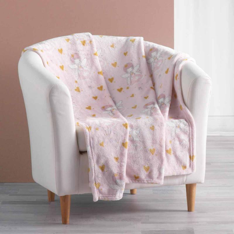 Παιδική Κουβέρτα Καναπέ L-C Rosaline 1608425