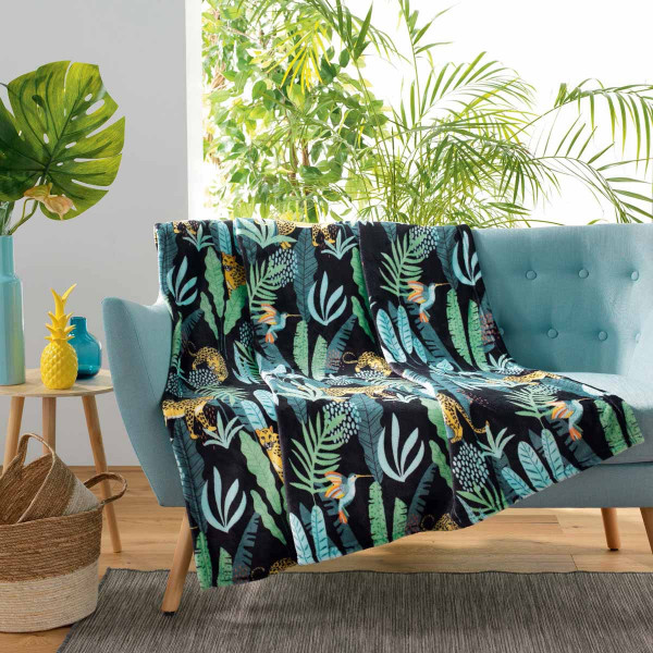 Κουβέρτα Καναπέ Mystic Jungle 1608428