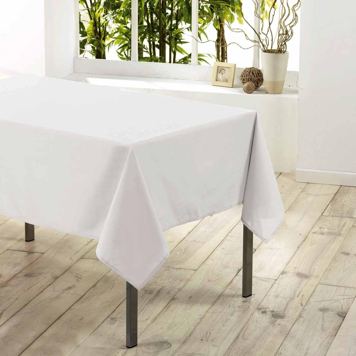 Αλέκιαστο Τραπεζομάντηλο (140×200) Essentiel Blanc 1720194