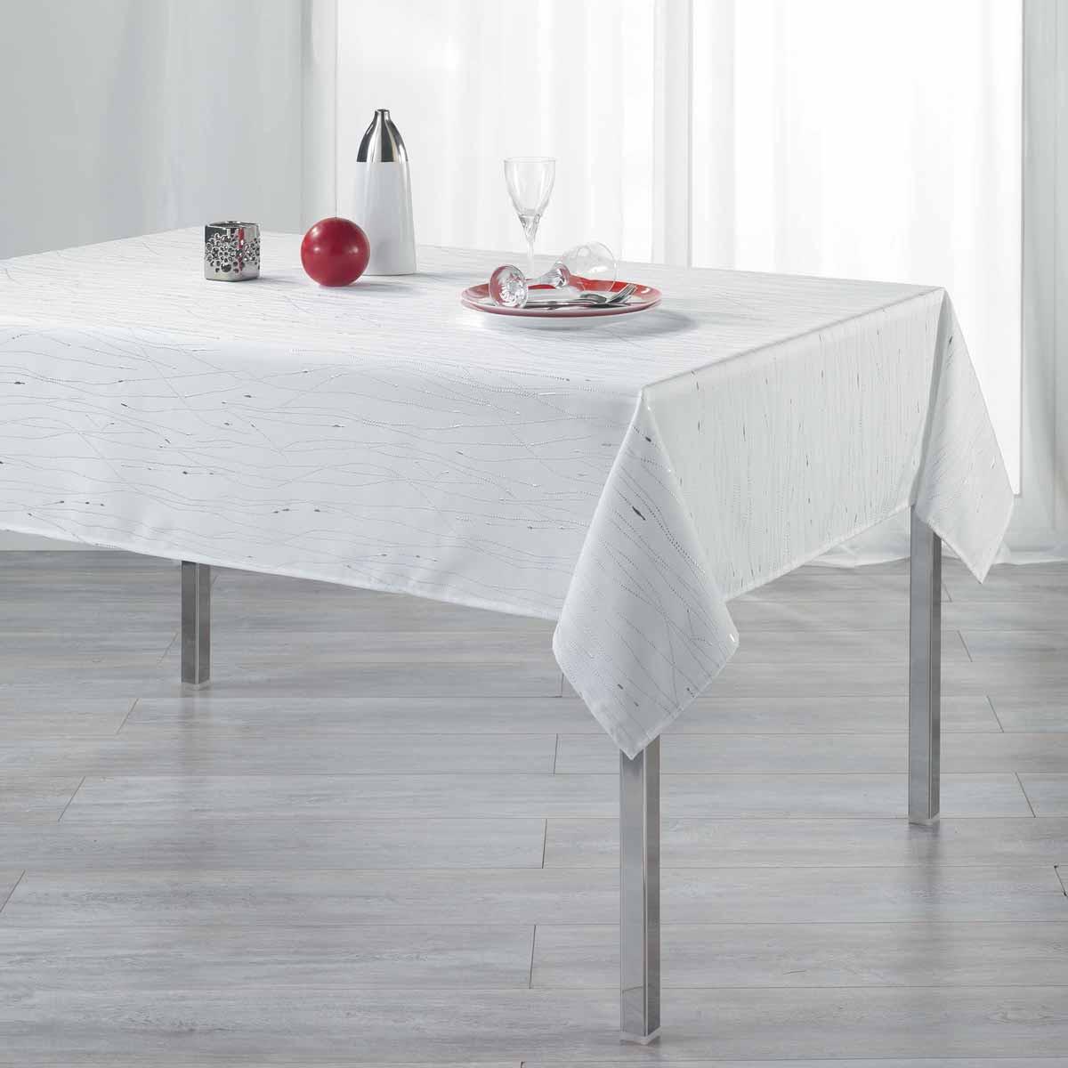Αλέκιαστο Τραπεζομάντηλο (140×240) L-C Filiane Blanc 1722216