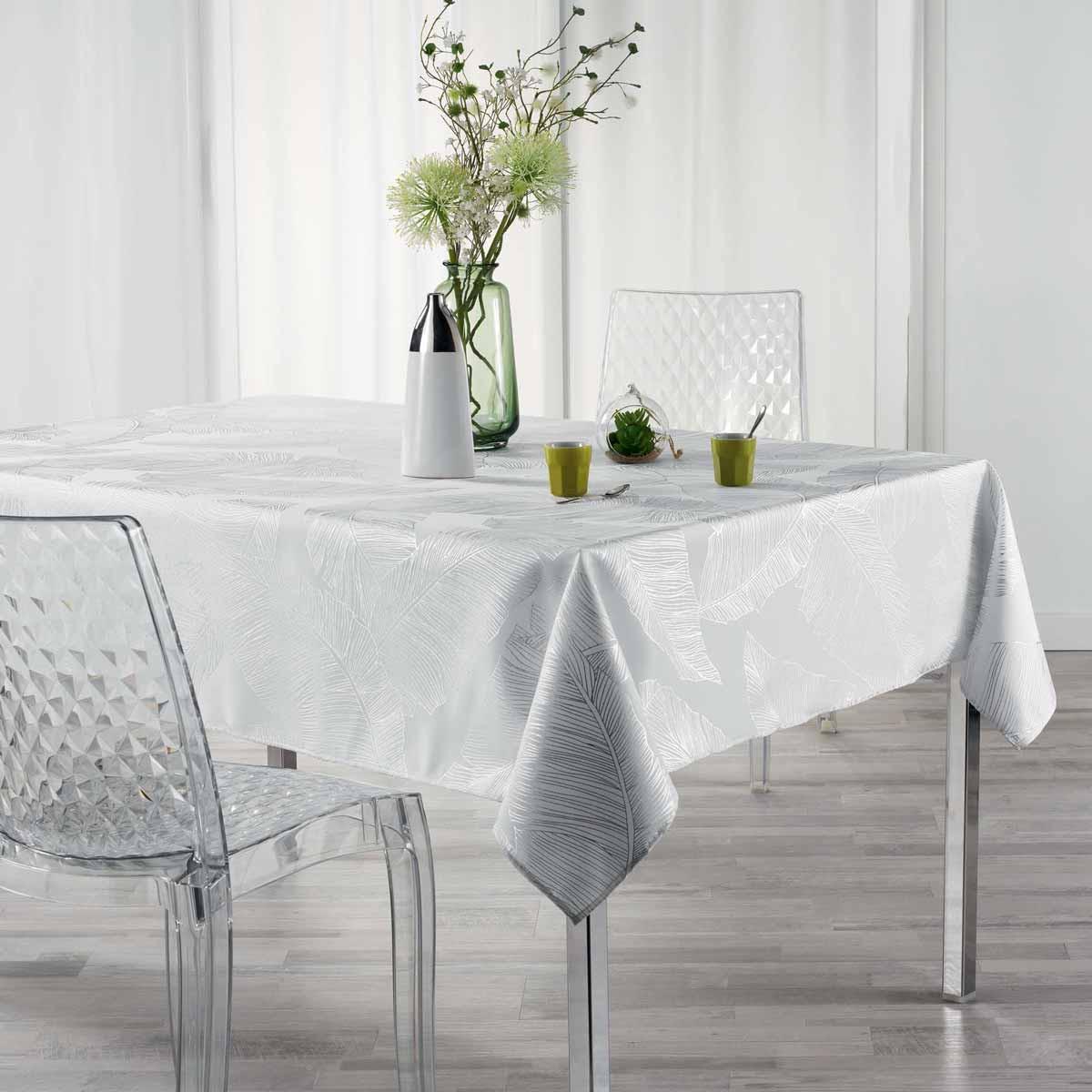 Αλέκιαστο Τραπεζομάντηλο (150×300) Veggy Blanc 1722596