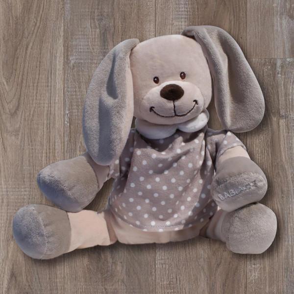 Λούτρινο Παιχνίδι Λευκών Ήχων Babiage Rabbit Beige BR73476