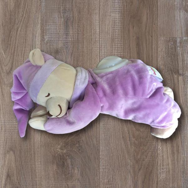 Λούτρινο Παιχνίδι Λευκών Ήχων Babiage Bear Pink BR73483