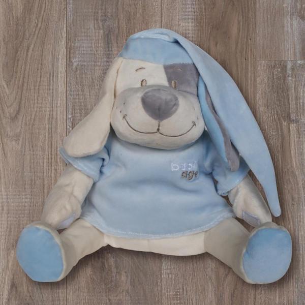 Λούτρινο Παιχνίδι Με Λευκούς Ήχους Babiage Dog Blue BR73477