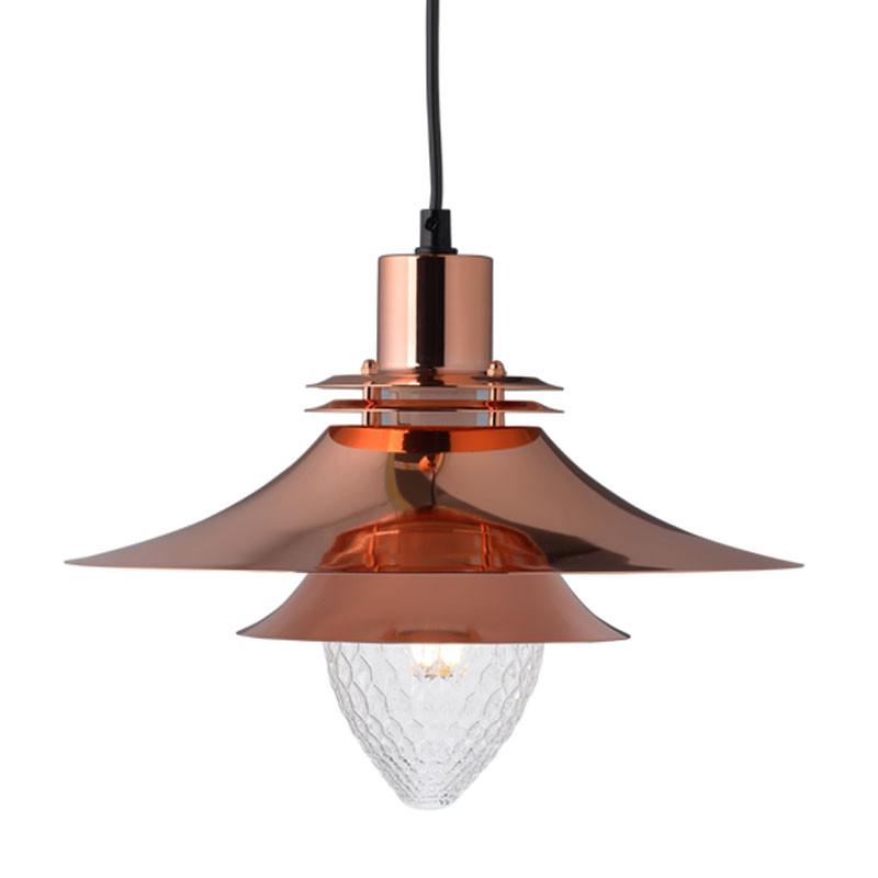 Φωτιστικό Οροφής Μονόφωτο Aca KS07871PCR Copper
