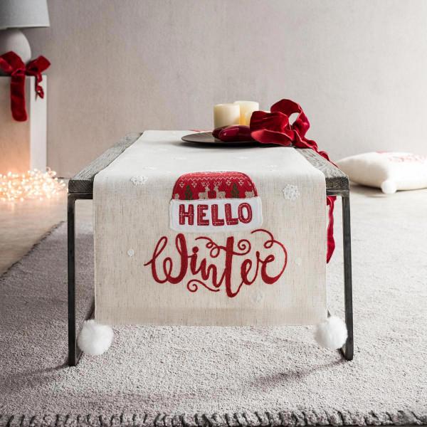 Χριστουγεννιάτικη Τραβέρσα (40x160) Gofis Home 777
