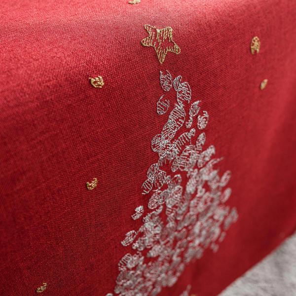 Χριστουγεννιάτικη Τραβέρσα (40x160) Gofis Home 977/02