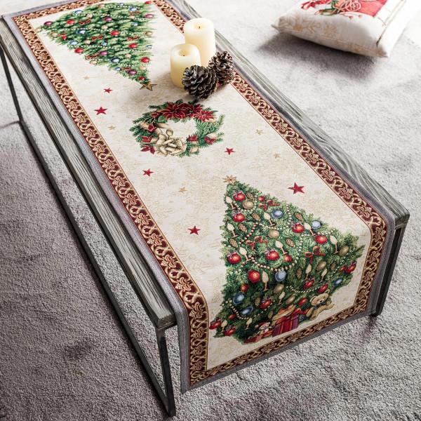 Χριστουγεννιάτικη Τραβέρσα (45x140) Gofis Home 718