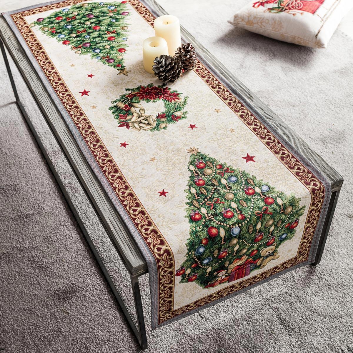 Χριστουγεννιάτικη Τραβέρσα (45×140) Gofis Home 718