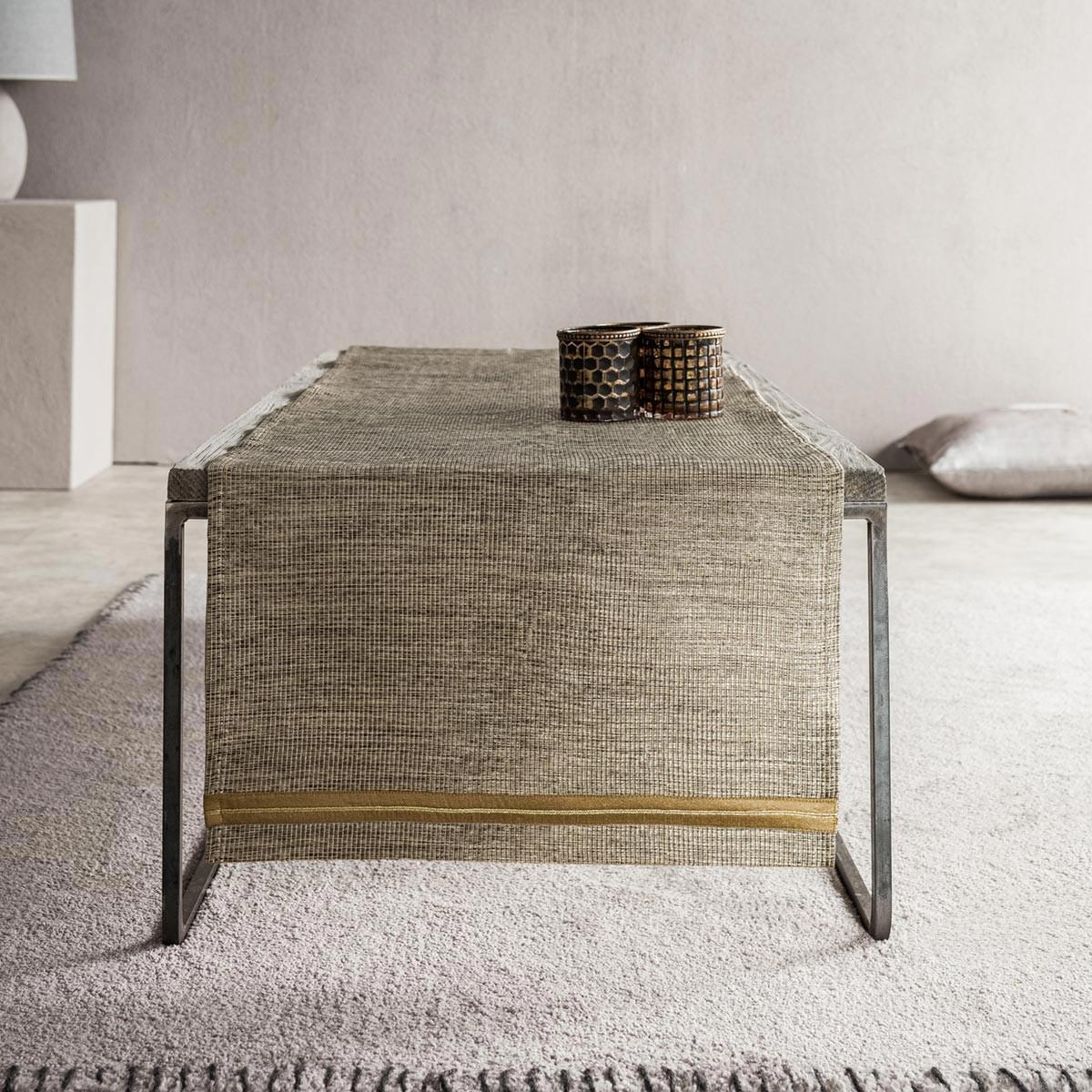 Τραβέρσα Gofis Home Antico Gold 850/04