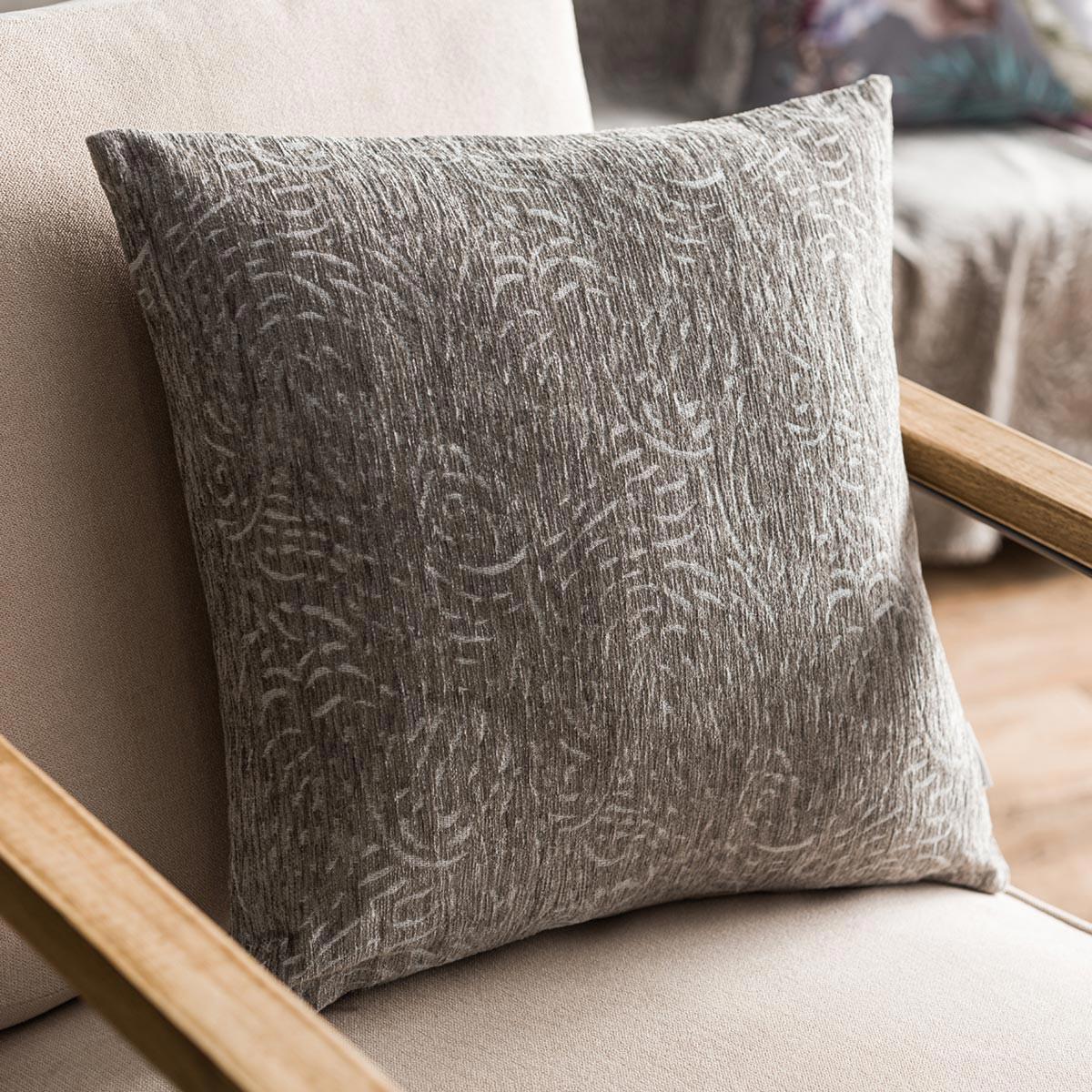 Διακοσμητική Μαξιλαροθήκη (50×50) Gofis Home Lands Grey 239/15