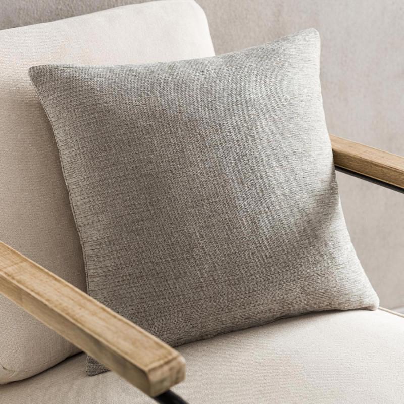 Διακοσμητική Μαξιλαροθήκη (50x50) Gofis Home Calma Grey 395A/15
