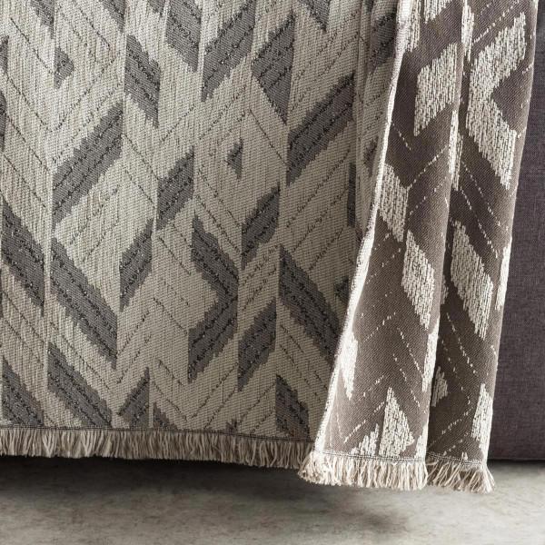 Ριχτάρι Διθέσιου (180x250) Gofis Home Niagra Grey 842/15