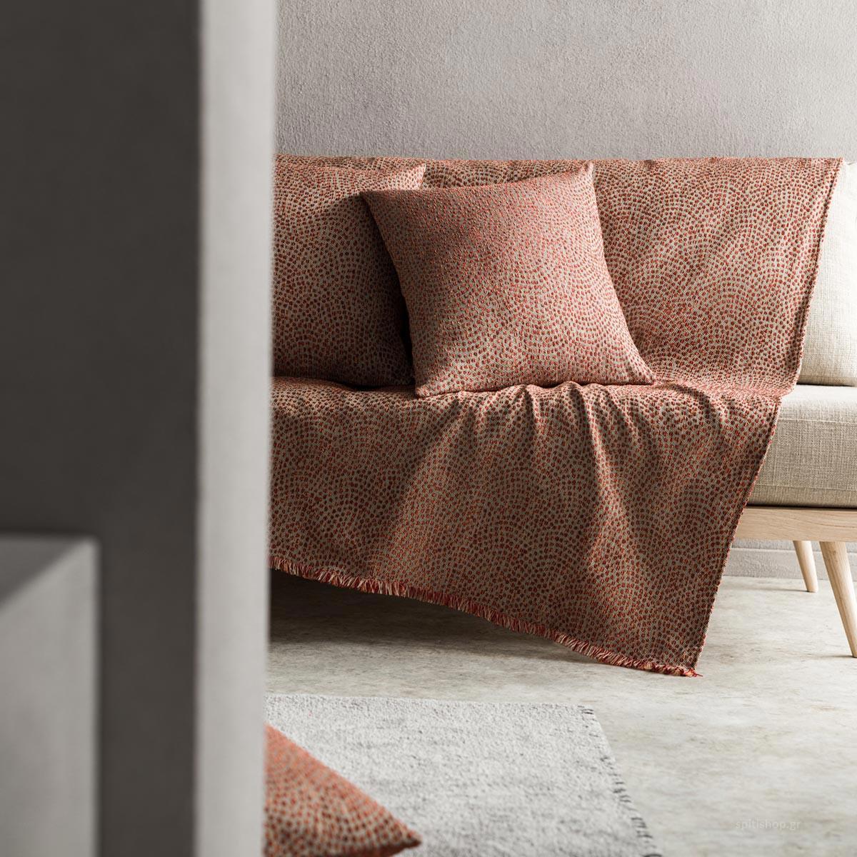 Ριχτάρι Πολυθρόνας (180×180) Gofis Home Que Brick 960/12