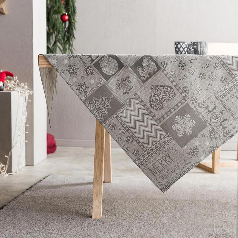 Χριστουγεννιάτικο Τραπεζομάντηλο (135x310) Gofis Home 594/15