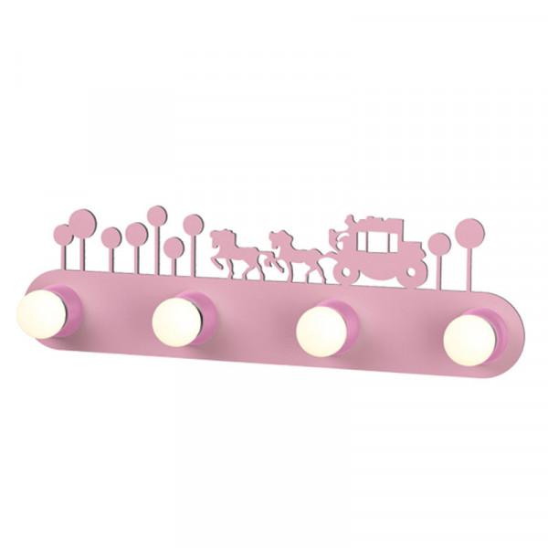 Παιδική Απλίκα Τοίχου Aca ZN170114WP Pink